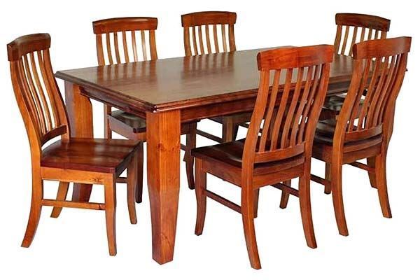 Picture of 7 Piece Vermont Dining Setting