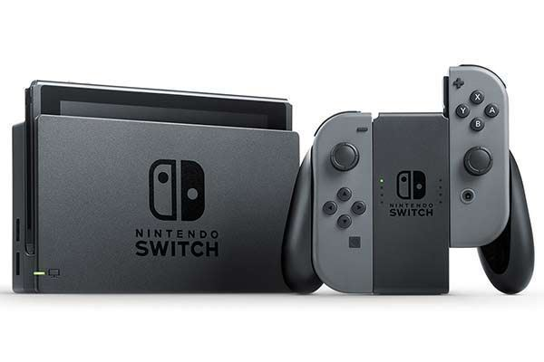 Picture of Nintendo Switch Console (Grey)