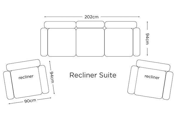 Picture of Bistro Recliner Lounge Suite